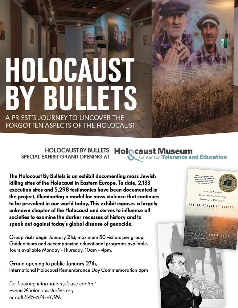 Holocaust By Bullets flyer